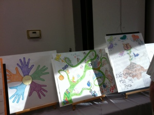 Story boards of the Prison Story Project Participants
