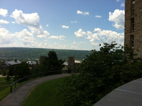 View From Cornell's Clock Tower