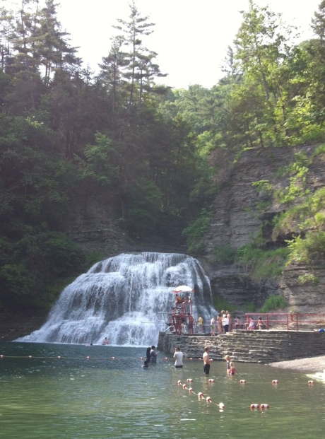 Treman State Park Swimming Area