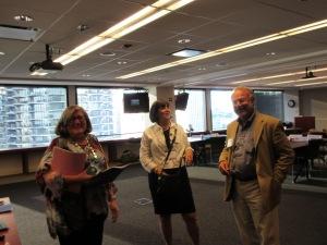 LEL Leadership, (L-R) Joyce Margulies, Gail Holtzman & Stu Manela