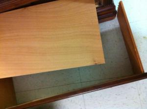 broken dresser